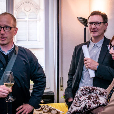 Damien Mehl, chef de projets urbains à la Ville et l
