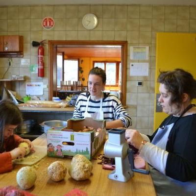La cuisine, lieu de travail et d
