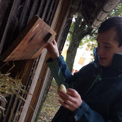 La ferme en biodynamie de Surcenord, un atelier de travail et d